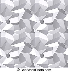 Seamless Crumpled paper abstract background