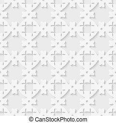 3d seamless geometric pattern