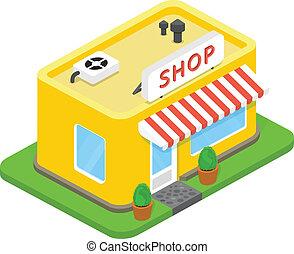 Vector 3d shop