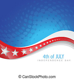 vector 4th of july independence day design art