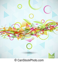 Vector abstract background,