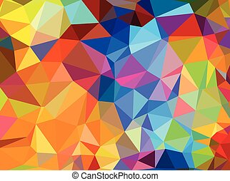 Vector abstract background. Design pattern for packaging. Colorful