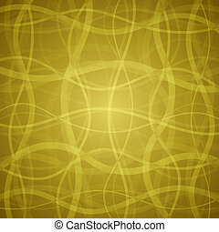 Vector abstract background - Gold clean vector floral...