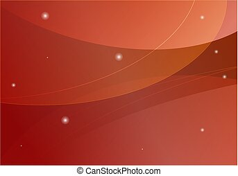 Vector abstract background in red and orange color
