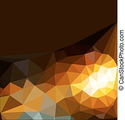 vector abstract background of triangles for business