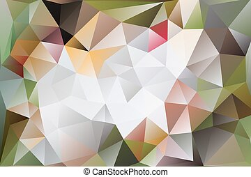 vector abstract background of triangles