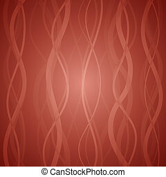 Vector abstract background - Red clean vector floral...