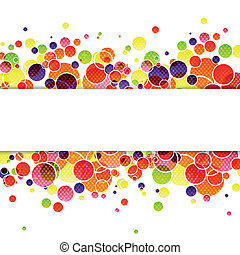 Vector Abstract Background - Vector Illustration of an...