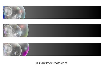 vector abstract background with bubble