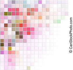vector abstract background with colored squares