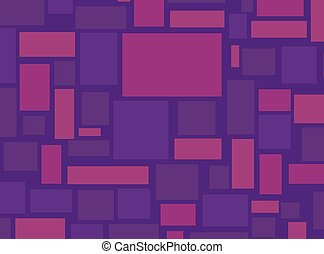 Vector Abstract Background with Rectangles