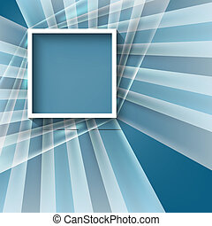 vector abstract background with square frame
