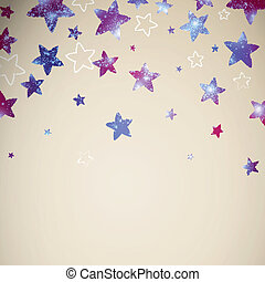 Vector Abstract Background with Stars