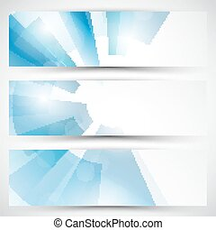 Vector abstract banner background