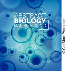 Vector Abstract biology background