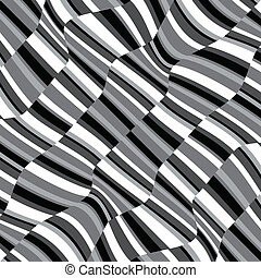 Vector abstract black and white background