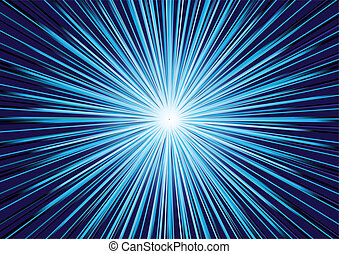 Vector abstract blue background; few layers
