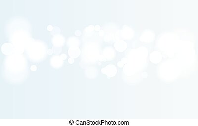 Vector abstract bokeh background. Festive defocused lights. Illustrated vector.
