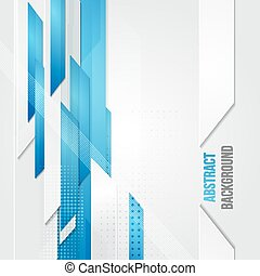 Vector abstract business background. Template brochure ...