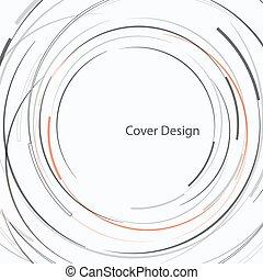 Vector abstract circle design