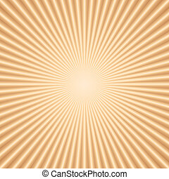 Vector abstract color background with radial lines
