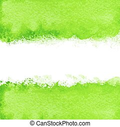 Vector abstract colored watercolor background