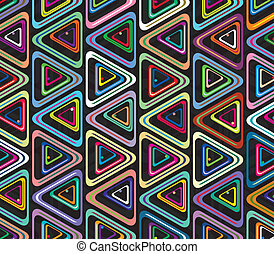 vector abstract colorful background of triangles