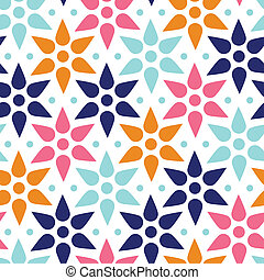 abstract colorful stars seamless pattern background