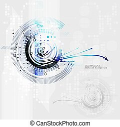 Vector abstract colorful waves background