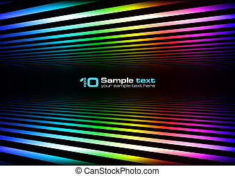 Vector abstract design - Abstract vector eps10 glowing ...