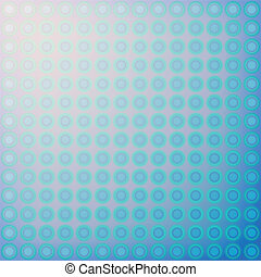 Vector Abstract design blue circles
