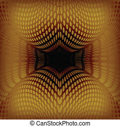 Vector Abstract design gold