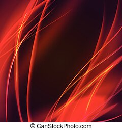 Vector abstract flame