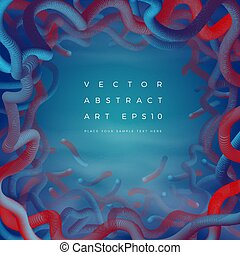 Vector abstract frame background. Banner, poster