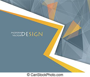 Vector abstract frame. Corporate design