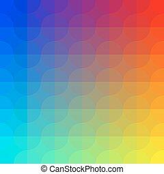 Geometric Colorful Pattern