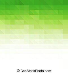 Abstract green geometric technology background