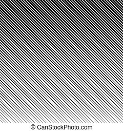 Vector abstract halftone black background. Gradient retro line pattern design. Monochrome graphic