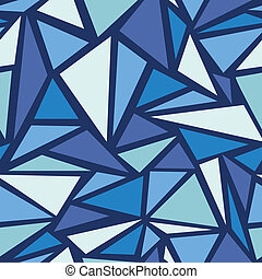 Abstract ice chrystals seamless pattern background - Vector ...