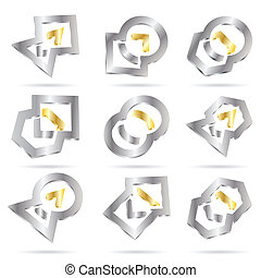 Vector abstract icon
