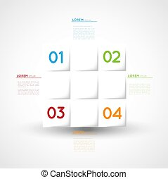 vector abstract infographic template