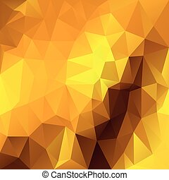 vector abstract irregular polygon background - triangle low...