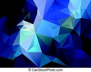 Sapphire triangle pattern wallpaper background - Sapphire wallpaper ...