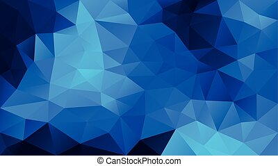 vector abstract irregular polygonal background - triangle ...