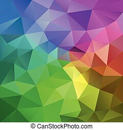 vector abstract irregular polygonal square background -...