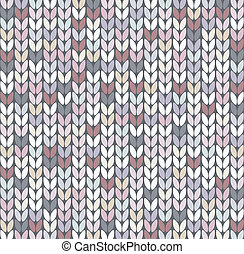 vector abstract knit pattern