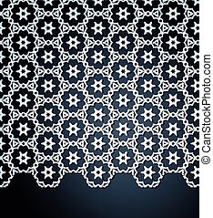 Vector abstract lace background