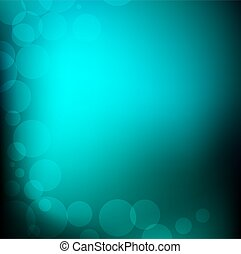 Vector Abstract Light Bokeh Background