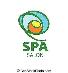 vector Abstract logo for Spa salon