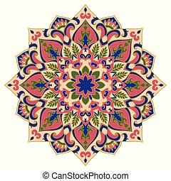 Vector abstract mandala.
